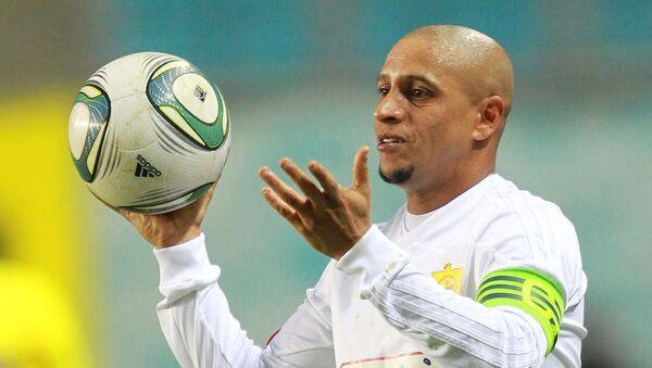 Cầu thủ bóng đá người Brasil Roberto Carlos - Sputnik Việt Nam