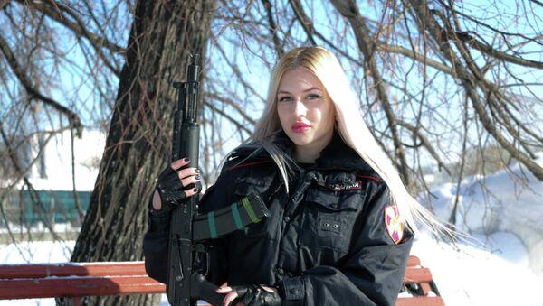Sỹ quan cảnh sát Anna Khramtsova, thành phố Ekaterinburg - Sputnik Việt Nam