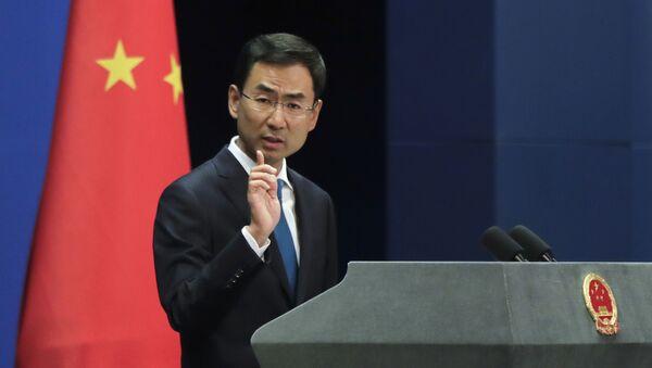 phát ngôn viên Cảnh Sảng của Bộ Ngoại giao Trung Quốc  - Sputnik Việt Nam