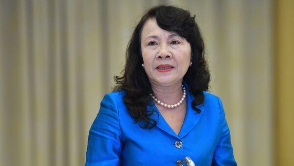 Thứ trưởng Bộ Giáo dục và Đào tạo Nguyễn Thị Nghĩa - Sputnik Việt Nam