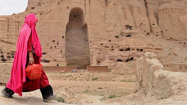 Tượng Phật Bamiyan, Afghanistan, 2010. - Sputnik Việt Nam