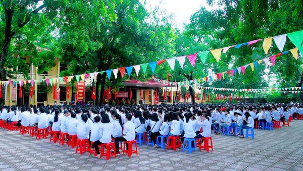 Học sinh trường THPT Phong châu - Sputnik Việt Nam