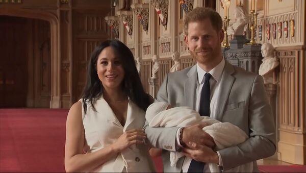 con trai mới sinh của Hoàng tử Harry và Megan Markle - Sputnik Việt Nam