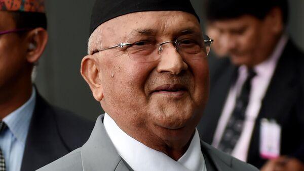 Thủ tướng Nepal Khadga Prasad Sharma Oli  - Sputnik Việt Nam