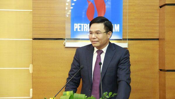 Ông Lê Mạnh Hùng, trên cương vị Phó Tổng giám đốc PVN  - Sputnik Việt Nam