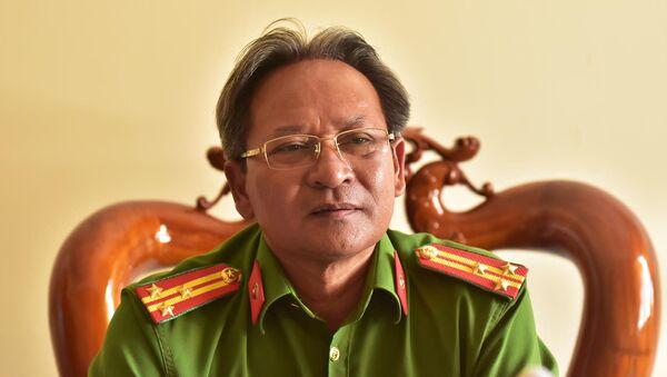 Thượng tá Võ Văn Náo, Trưởng công an huyện Bình Sơn - Sputnik Việt Nam