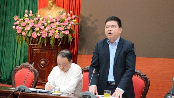 Ông Trần Xuân Hà, Phó trưởng Ban Tuyên giáo Thành ủy Hà Nội - Sputnik Việt Nam