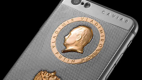 Điện thoại iPhone 6S nhân dịp sinh nhật Tổng thống Nga Vladimir Putin - Sputnik Việt Nam