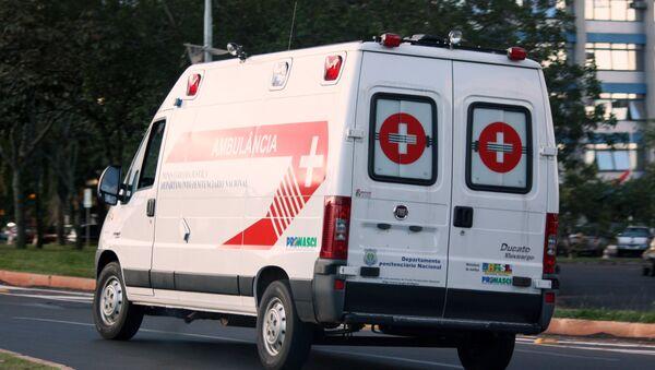 Brazil ambulance - Sputnik Việt Nam