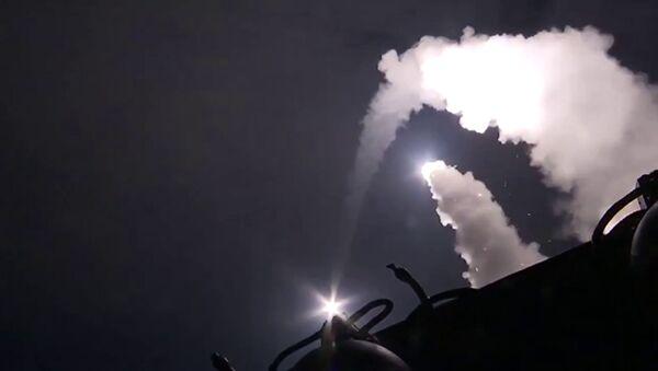 Các tàu của Hạm đội Caspi phóng tên lửa hành trình vào những cứ điểm khủng bố IS ở Syria - Sputnik Việt Nam