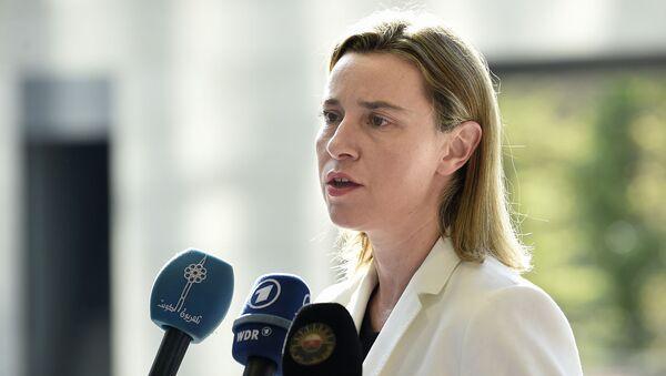 Federica Mogherini - Sputnik Việt Nam