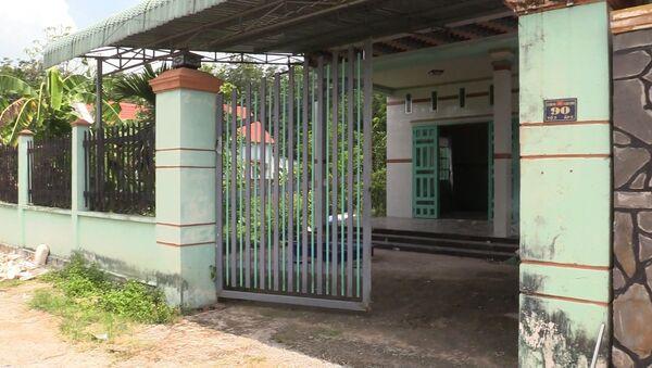 Căn nhà nơi xảy ra vụ án mạng.  - Sputnik Việt Nam