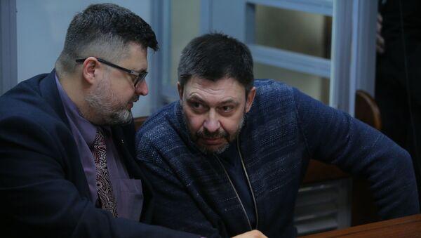 Người đứng đầu cổng thông tin RIA Novosti Ukraina, nhà báo Kirill Vyshinsky - Sputnik Việt Nam
