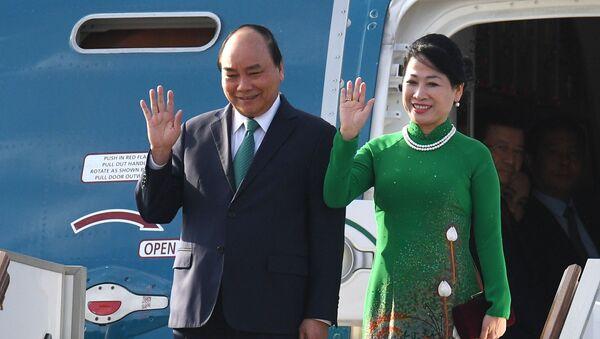 Thủ tướng Chính phủ Việt Nam Nguyễn Xuân Phúc tới Moskva - Sputnik Việt Nam