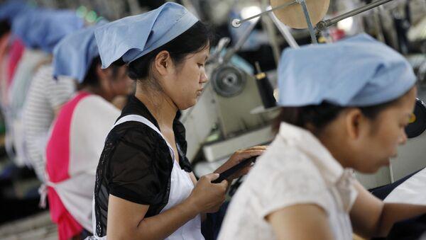 Nhà máy tại Trung Quốc - Sputnik Việt Nam
