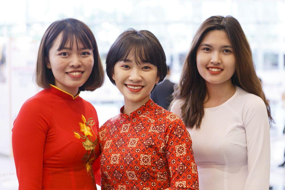 Khách mời dự lễ khai mạc Năm chéo hữu nghị Nga Việt