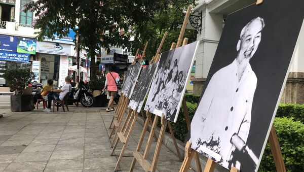 Triển lãm Hồ Chí Minh một người giản dị tại Hà Nội - Sputnik Việt Nam