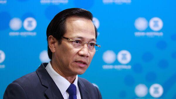 Bộ trưởng Lao động - Thương binh và Xã hội Đào Ngọc Dung - Sputnik Việt Nam