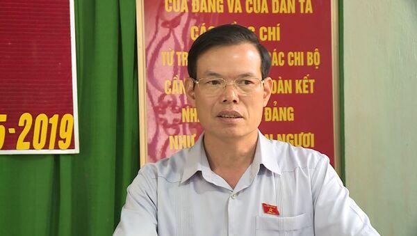 Bí thư tỉnh ủy Triệu Tài Vinh - Sputnik Việt Nam