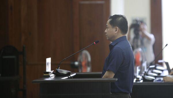 Bị cáo Phan Văn Anh Vũ tại phiên toà ngày 27/5/2019.  - Sputnik Việt Nam
