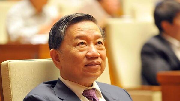 Đại tướng Tô Lâm, Ủy viên Bộ Chính trị, Bộ trưởng Bộ Công an - Sputnik Việt Nam