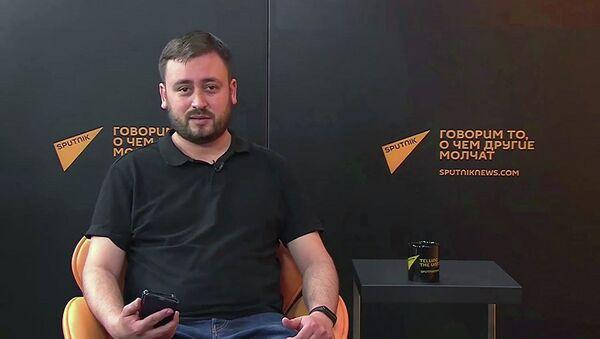 Tổng biên tập Sputnik Litva Marat Kasem - Sputnik Việt Nam
