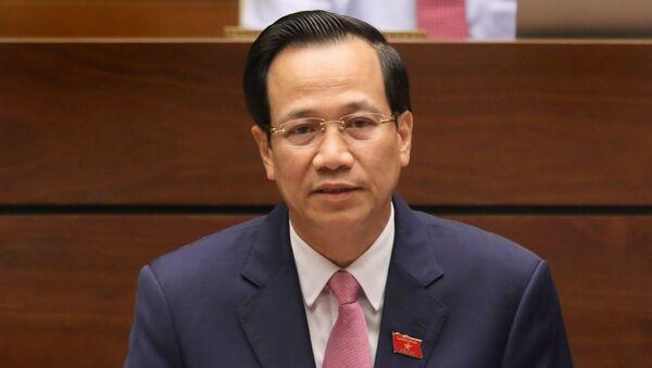 Bộ trưởng LĐ-TB&XH Đào Ngọc Dung - Sputnik Việt Nam