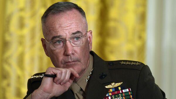 Chủ tịch Hội đồng Tham mưu trưởng liên quân Mỹ Joseph Dunford - Sputnik Việt Nam