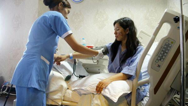 Nữ vận động viên leo núi Ấn Độ bị tê cóng trong bệnh viện ở Kathmandu - Sputnik Việt Nam