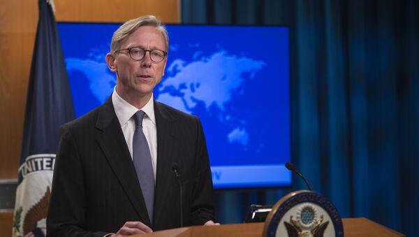 Đại diện đặc biệt của Hoa Kỳ về Iran Brian Hook - Sputnik Việt Nam