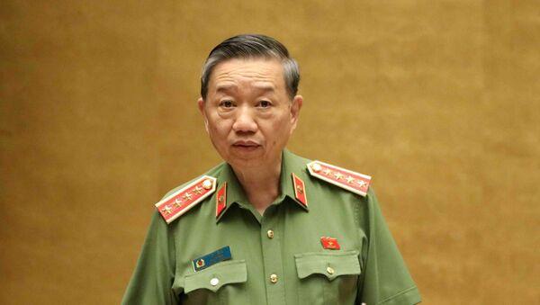 Bộ trưởng bộ Công an Tô Lâm. - Sputnik Việt Nam