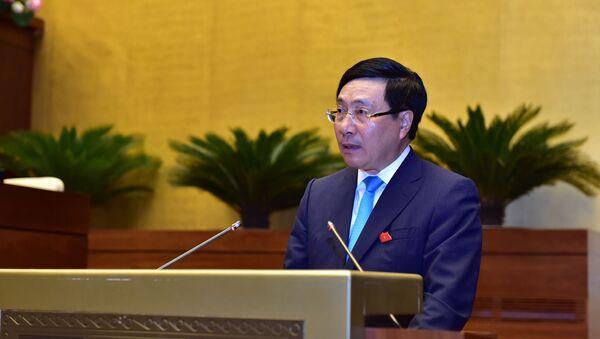 Phó Thủ tướng Chính phủ Phạm Bình Minh  - Sputnik Việt Nam