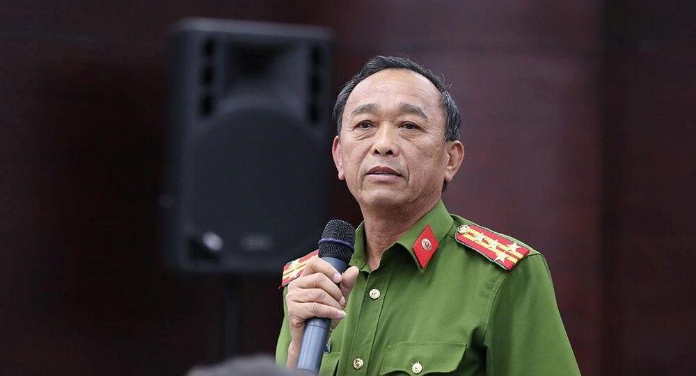 Đại tá Trần Mưu – Phó Giám đốc Công an TP Đà Nẵng