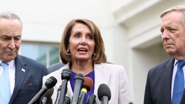 Chủ tịch Hạ viện của Quốc hội Hoa Kỳ, bà Nancy Pelosi - Sputnik Việt Nam