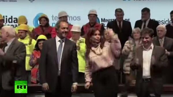 Bà Cristina Fernandez de Kirchner - Sputnik Việt Nam