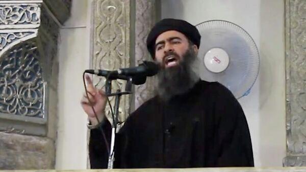 """Thủ lĩnh nhóm cực đoan """"Nhà nước Hồi giáo"""" Abu Bakr al-Baghdadi - Sputnik Việt Nam"""
