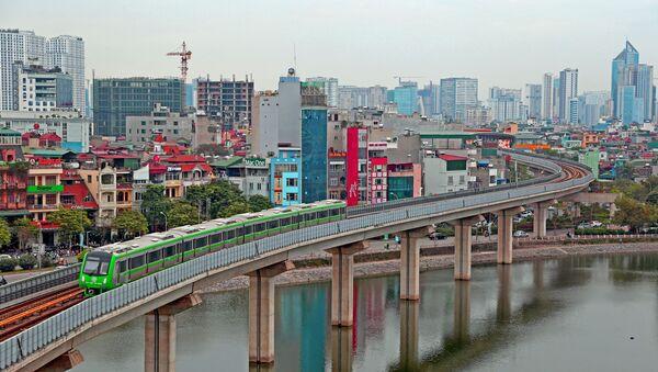 Tuyến đường sắt đô thị Cát Linh - Hà Đông  - Sputnik Việt Nam