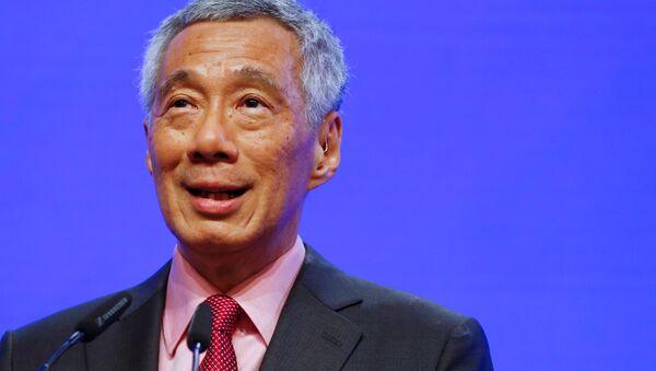 Thủ tướng Singapore Lý Hiển Long tại Đối thoại Shangri-La  - Sputnik Việt Nam