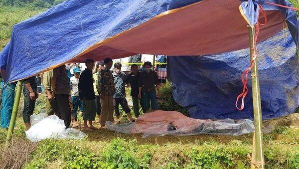 Tìm thấy thi thể nạn nhân mắc kẹt 9 ngày trong hang đá ở Lào Cai - Sputnik Việt Nam