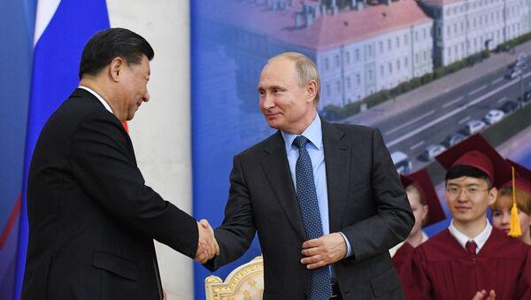 Chuyến thăm của Chủ tịch Trung Quốc Tập Cận Bình tới Nga - Sputnik Việt Nam