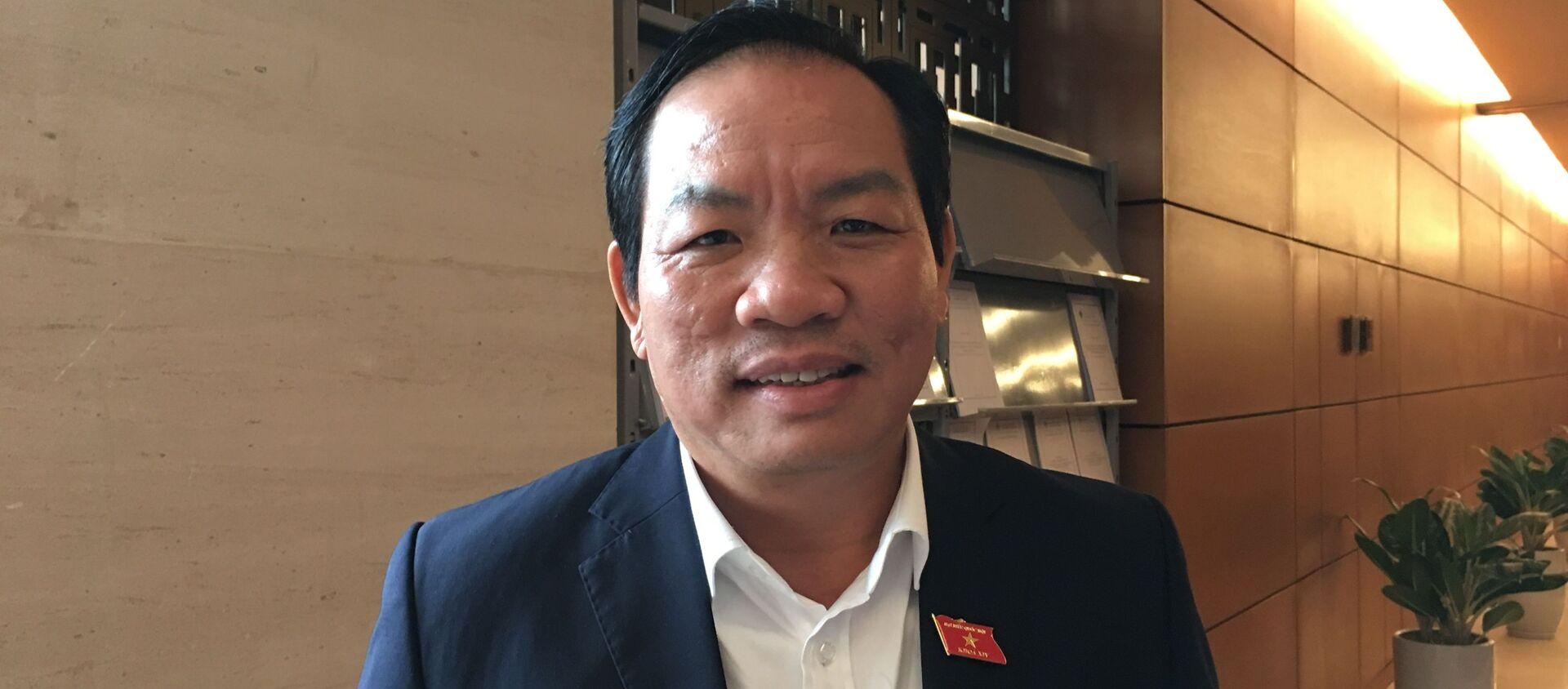 Phó Chủ nhiệm ủy ban Khoa học, Công nghệ và Môi trường của Quốc hội Lê Hồng Tịnh. - Sputnik Việt Nam, 1920, 10.06.2019