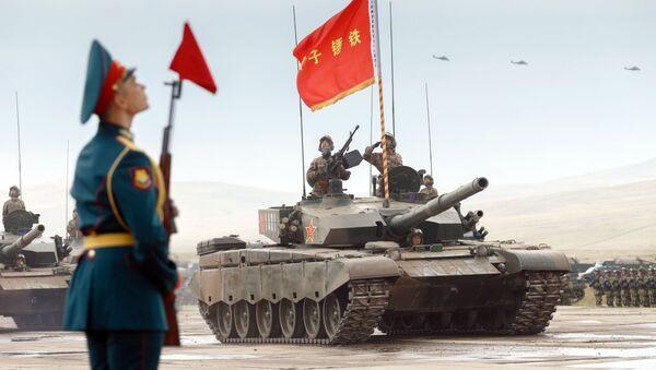 Cuộc tập trận quân sự của lực lượng vũ trang Nga và Trung Quốc Vostok-2018 - Sputnik Việt Nam