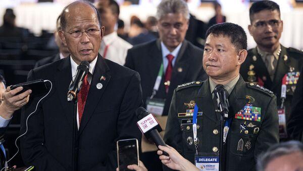 Bộ trưởng Quốc phòng Philippines Delfin Lorenzana  - Sputnik Việt Nam