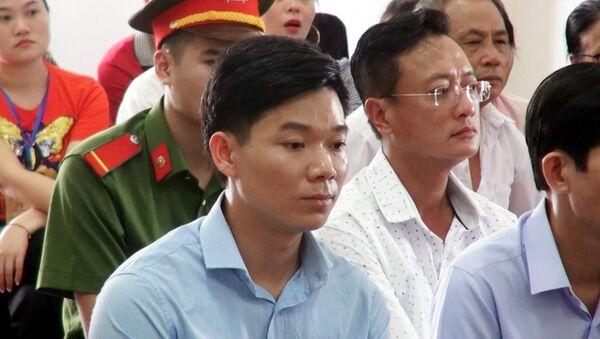 Bị cáo Hoàng Công Lương tại phiên toà phúc thẩm. - Sputnik Việt Nam
