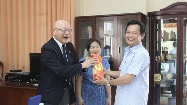 Ông Nguyễn Quốc Trâm, nguyên Giám đốc Sở Ngoại vụ tỉnh Khánh Hòa - Sputnik Việt Nam