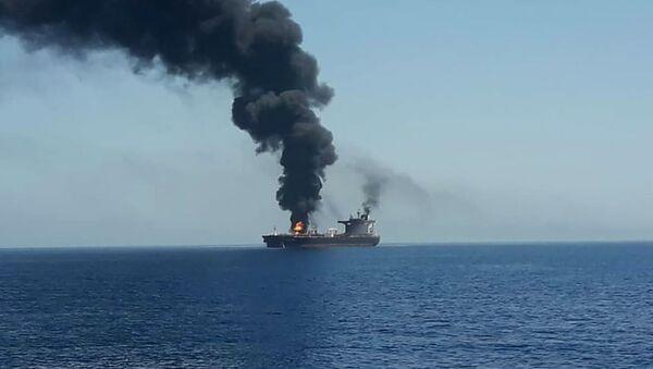 Một tàu chở dầu gặp nạn ở vịnh Oman - Sputnik Việt Nam