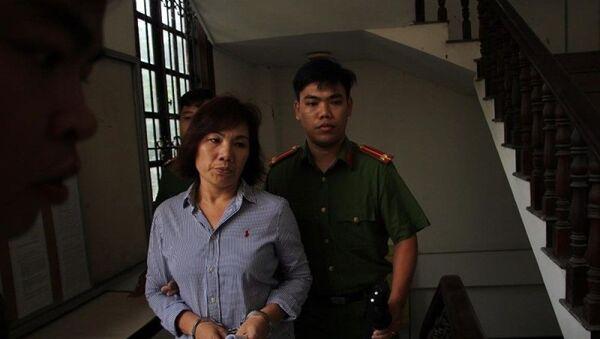 So với trước lúc bị bắt tạm giam, bà Nga tiều tụy đi nhiều. - Sputnik Việt Nam