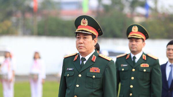 Đại tướng Lương Cường, Bí thư Trung ương Đảng, Chủ nhiệm Tổng cục Chính trị QĐND Việt Nam - Sputnik Việt Nam