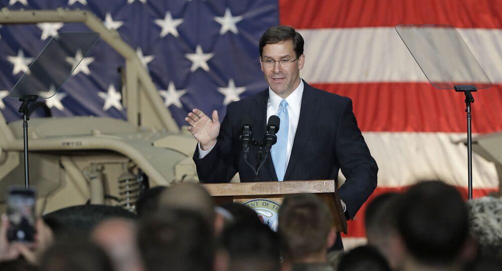 Ông Mark Esper, quyền Bộ trưởng Quốc phòng Mỹ