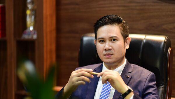 Chủ tịch Phạm Văn Tam của Asanzo - Sputnik Việt Nam